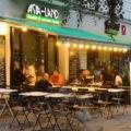 Berlin Restaurant ASIA-LAND Aussenansicht mit Terrasse