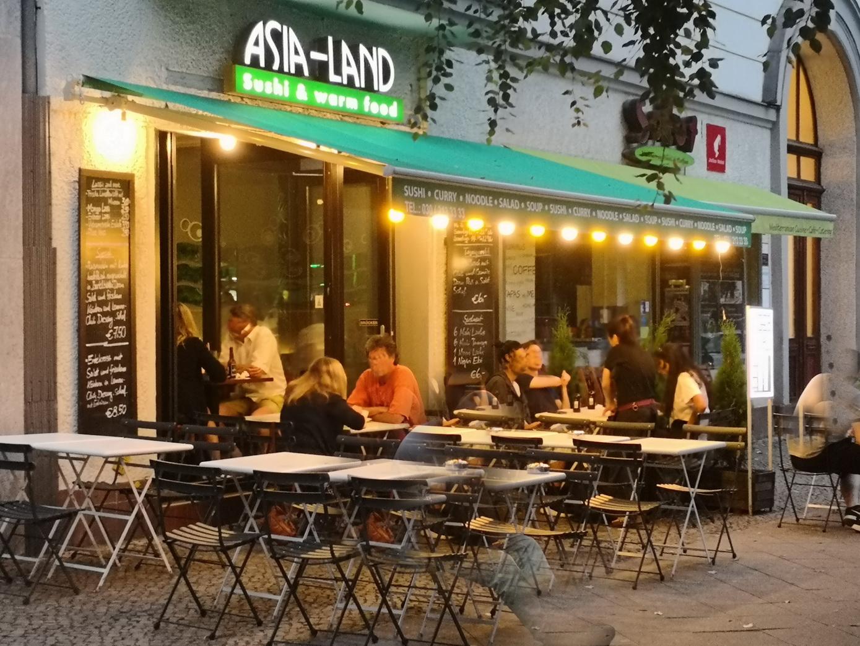 Berlin Restaurant Asia Land Aussenansicht