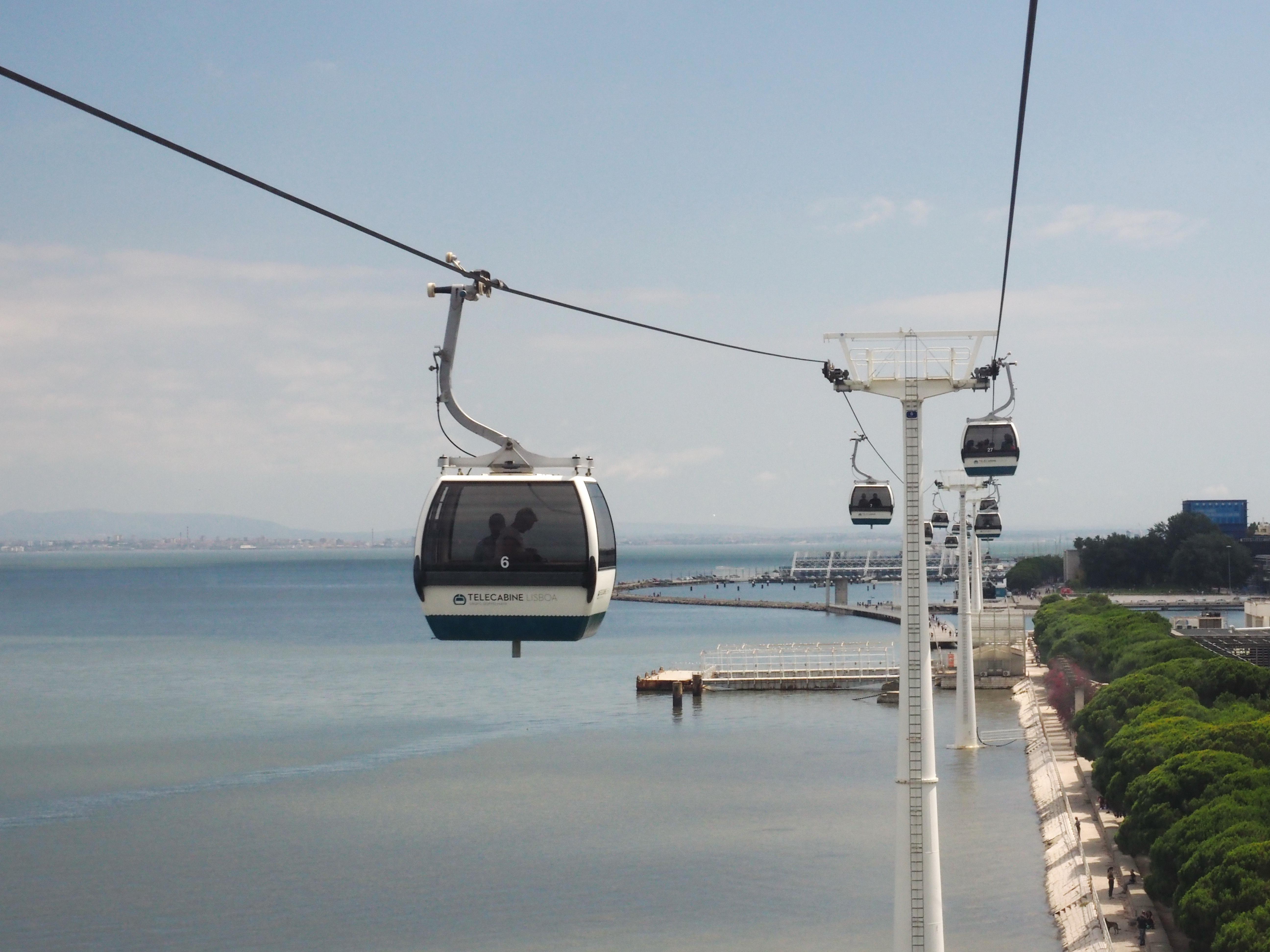 Telecabine Lisboa - Teleférico do Parque das Nações